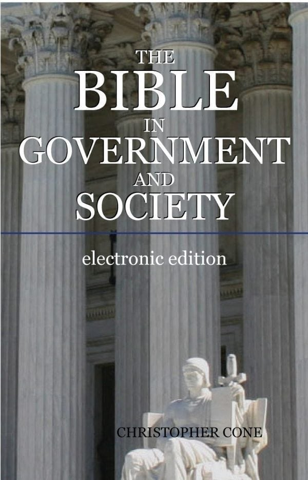 The Bible in Government and Society (Ebook)