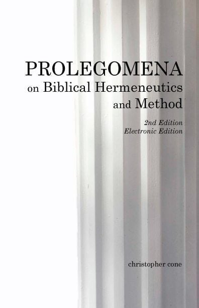 Prolegomena on Biblical Hermeneutics and Method, 2nd Edition (Ebook)