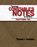 Constable's Notes on the Bible, Volume VI Matthew – Mark