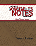 Thomas Constable's Note's on the Bible: Vol. VIII