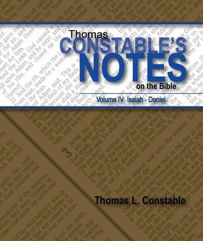 Thomas Constable's Notes, Vol. IV